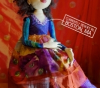 2015-Cloth Art Doll-#1-Boston