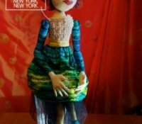 2015 Cloth Doll #6-New York