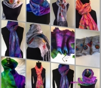 2016 felt scarf collage