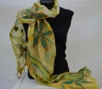 2014 silk/merino felt scarf