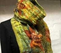 2016 pistachio nuno felt scarf -sold